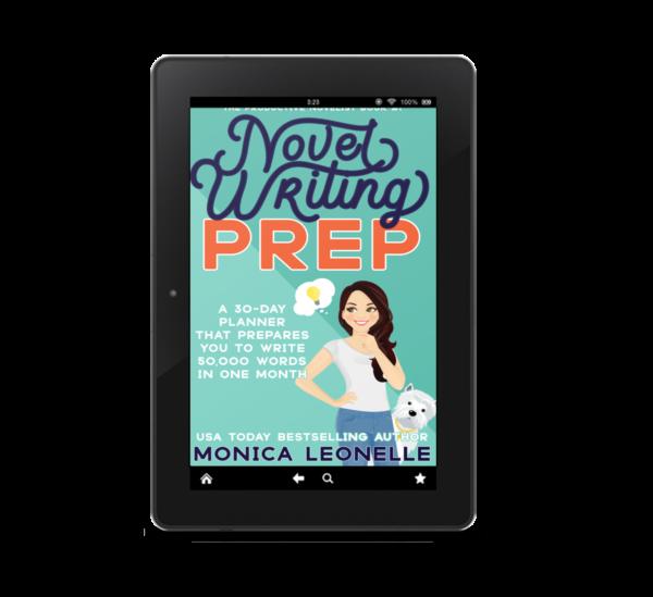 Novel Writing Prep Digital Ebook