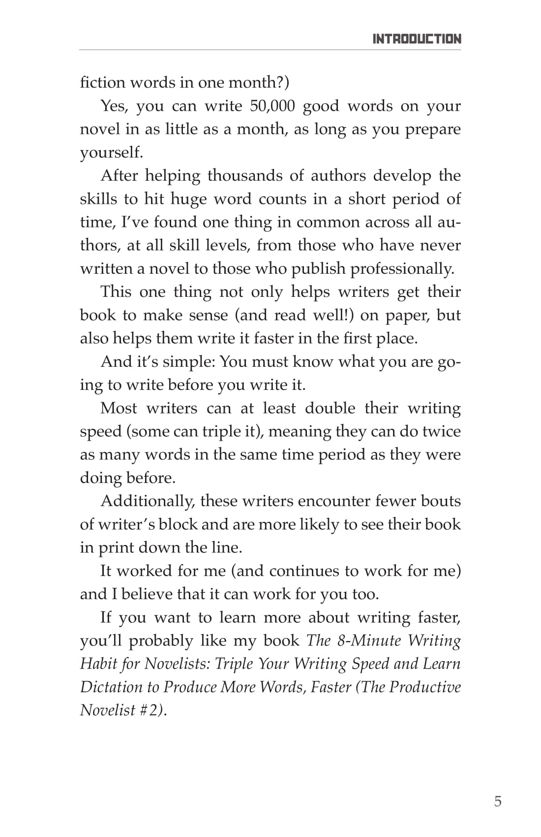 Novel Writing Prep Introduction-5